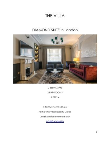 Diamond Suite - London