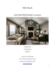 Mayfair Penthouse - London