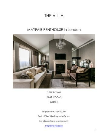 Mayfair Penthouse - London