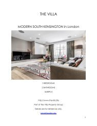 Modern South Kensington - London