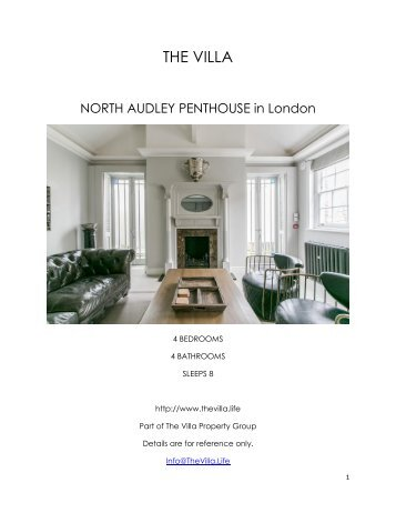 North Audley Penthouse - London