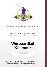 Werbeartikel Kosmetik bedrucken mit Logo