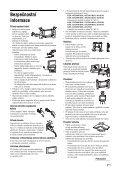 Sony KDL-40S2030 - KDL-40S2030 Istruzioni per l'uso Ceco - Page 7