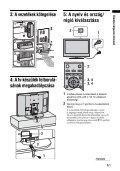 Sony KDL-40S2030 - KDL-40S2030 Istruzioni per l'uso Ungherese - Page 5