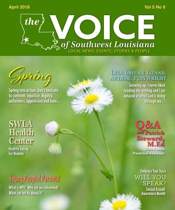The Voice of Southwest Louisiana April 2018 Issue