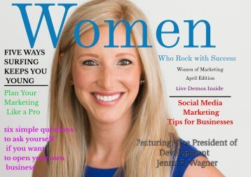 Women Who Rock with Success-Marketing Edition