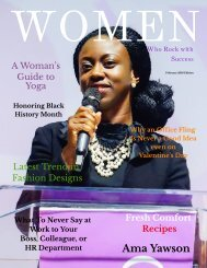 Women Who Rock with Success- Women of Color