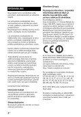 Sony HT-CT790 - HT-CT790 Istruzioni per l'uso Lettone - Page 2