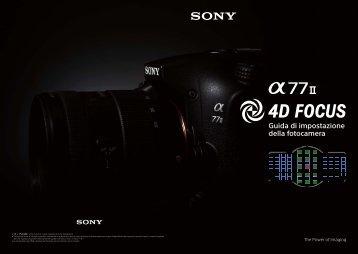 Sony ILCA-77M2M - ILCA-77M2M User's Guide Italien