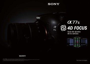 Sony ILCA-77M2M - ILCA-77M2M User's Guide Espagnol