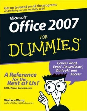 Microsoft  Office For Dummies