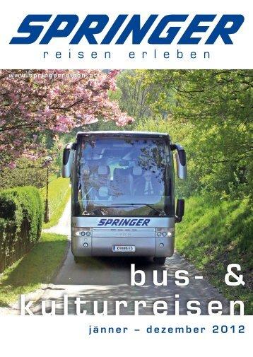 SPRINGER BusUndKulturreisen 2012