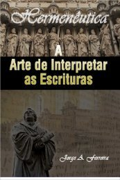 EBook- a arte de interpretar as escrituras (novo livro)