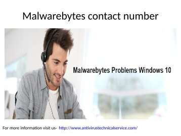 Malwarebytes customer support