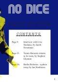 No Dice Magazine PDF (12MB) - Page 5