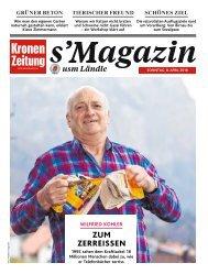 s'Magazin usm Ländle, 8. April 2018