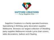 Australia party decorations