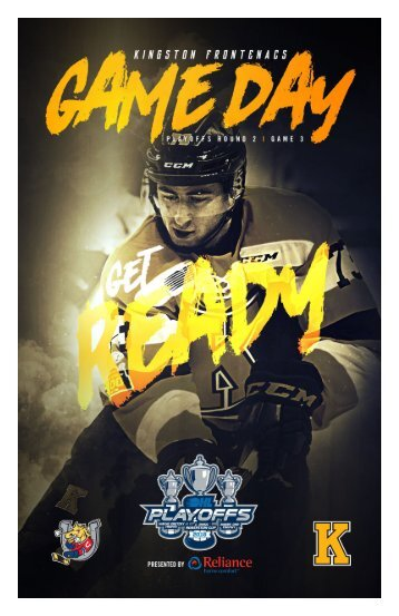 Kingston Frontenacs GameDay April 7, 2018