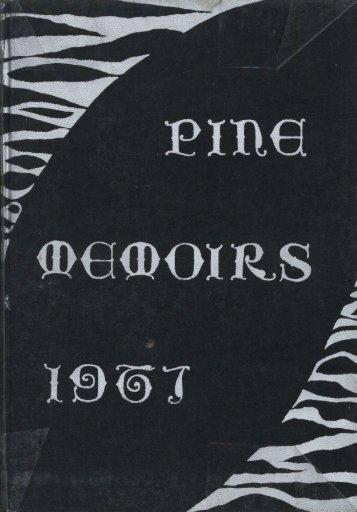 1967 Pine Memoirs