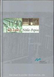 Nölle Pepin 100 Jahre 1999