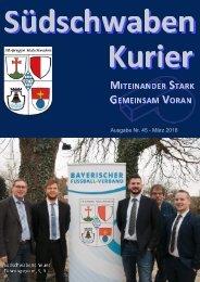 Südschwaben Kurier - MÄRZ 2018