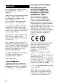Sony HT-XT2 - HT-XT2 Consignes d'utilisation Finlandais - Page 2