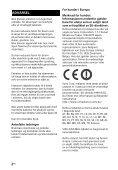 Sony HT-XT2 - HT-XT2 Consignes d'utilisation Norvégien - Page 2