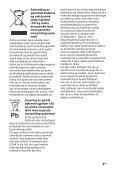 Sony HT-XT2 - HT-XT2 Consignes d'utilisation Norvégien - Page 3