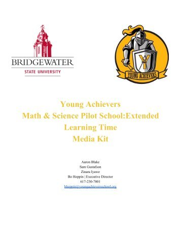 Young Achievers final