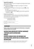 Sony DSC-WX500 - DSC-WX500 Mode d'emploi Roumain - Page 3