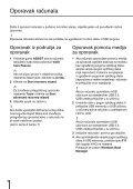 Sony SVS1311Q9E - SVS1311Q9E Guide de dépannage Slovénien - Page 6