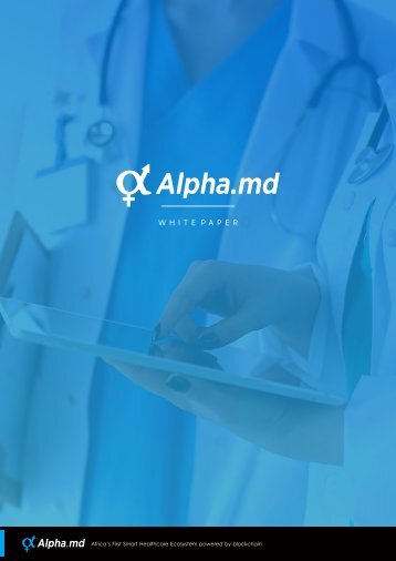 ALPHA MEDICAL WHITEPAPER