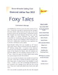 Foxy Tales 2012