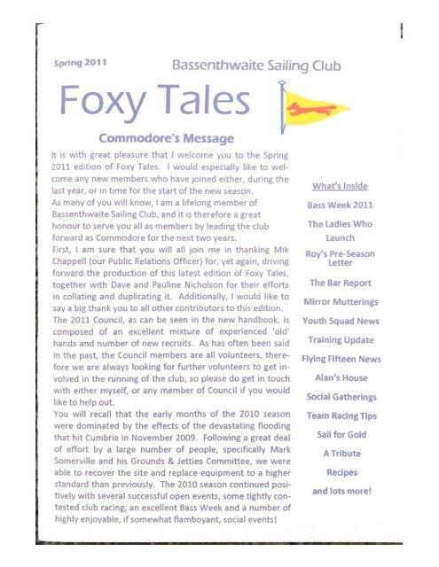 Foxy Tales 2011