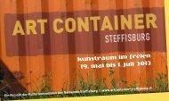 Broschüre zum Download - Art Container Steffisburg