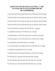 Bộ đề thi thử THPT QG 2018 Các môn TOÁN - LÍ - HÓA Các trường THPT Cả nước CÓ HƯỚNG DẪN GIẢI (Lần 7) [DC09042018]