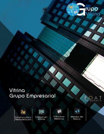 Brochure Grupo Empresarial Vitrina diseños estructura metálica