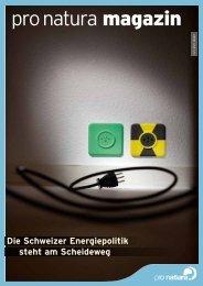 Die Schweizer Energiepolitik steht am Scheideweg - Pro Natura