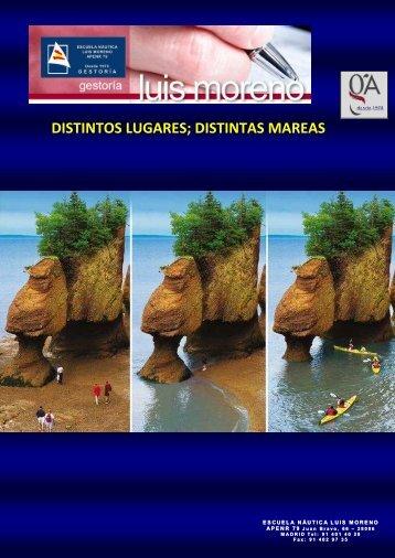 DISTINTOS LUGARES; DISTINTAS MAREAS - Fondear.org
