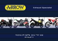 Arrow Product Catalogue n 036 - April 2018