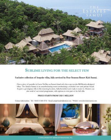The Estates Samui Ad