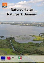 Naturparkplan Naturpark Dümmer