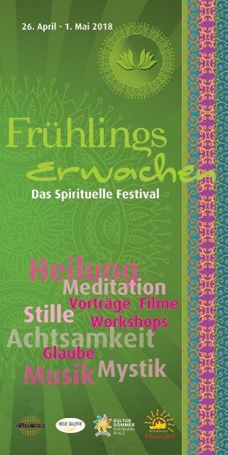 Spiritituelles Festival 2018 Programm