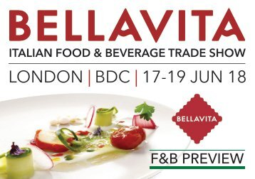 Bellavita F&B Preview