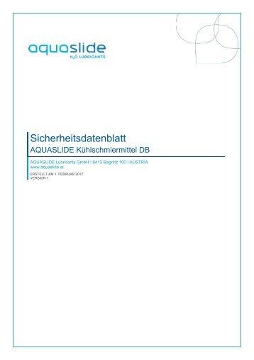 SDB_Aquaslide Kühlschmiermittel DB_Deutsch_DE_082017