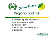 Regional und Fair, roland - (BUND) Sachsen