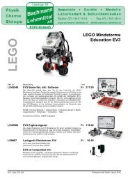 LEGO Mindstorms Education EV3 | LEGO | Bachmann Lehrmittel