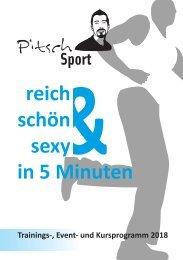 Pitsch Sport Programm 2018