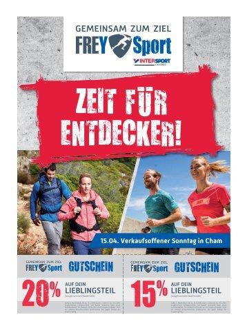 FREY Sport - Zeit für Entdecker!