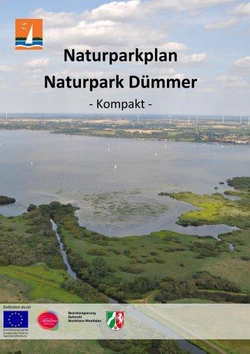 Naturparkplan Naturpark Dümmer Kompakt